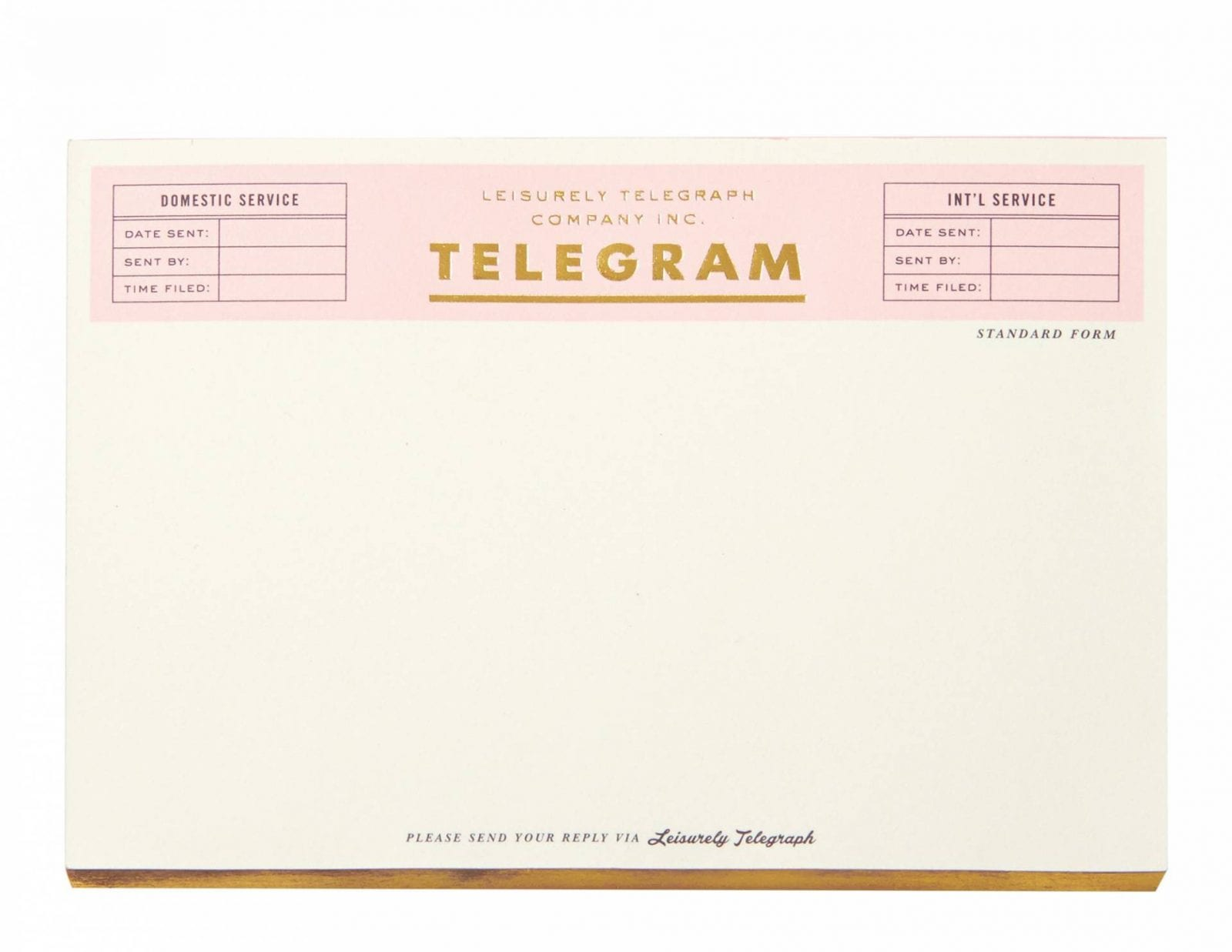Telegram Notepad from Kate Spade NY