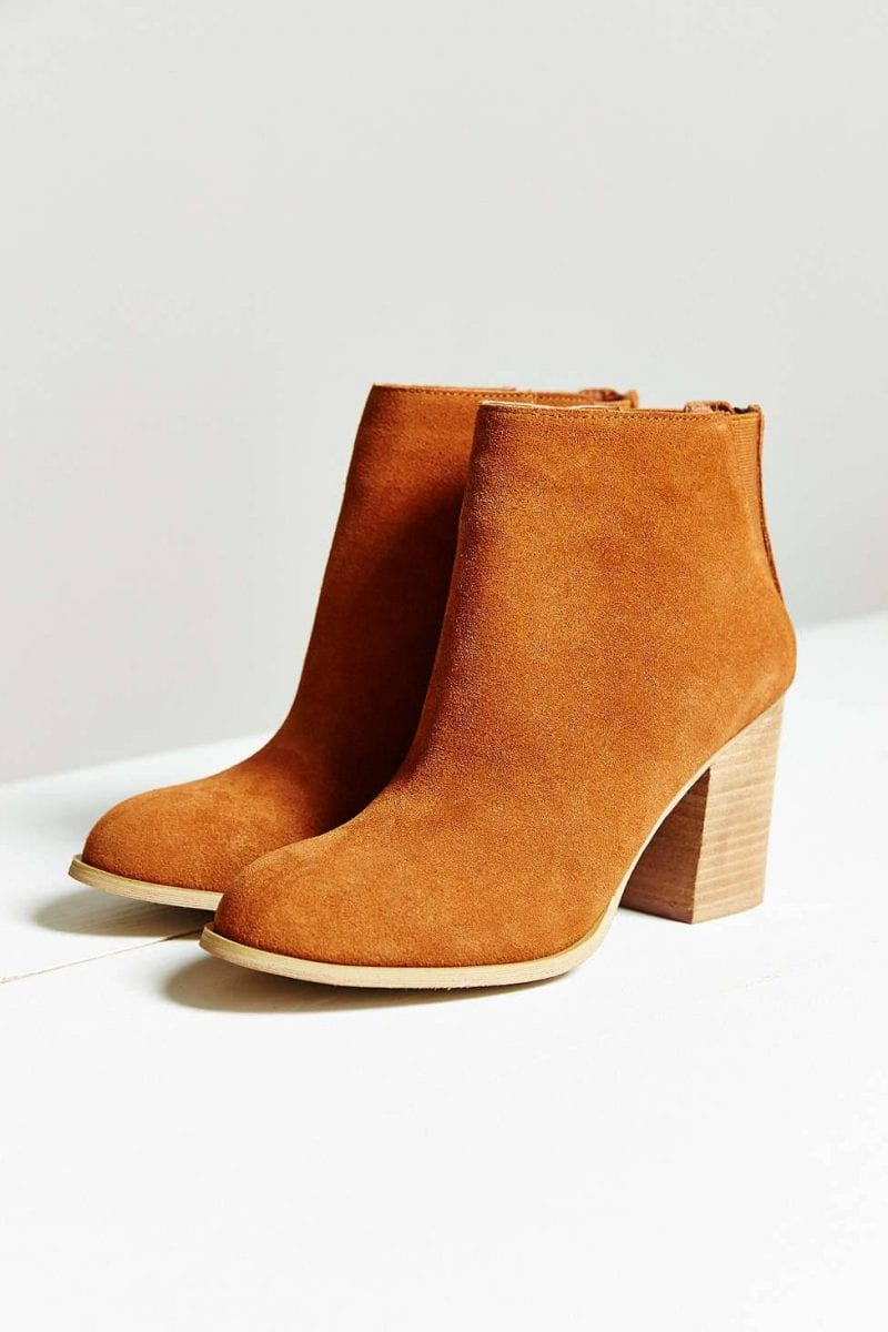 Urban Outfitters Short Suede Boot