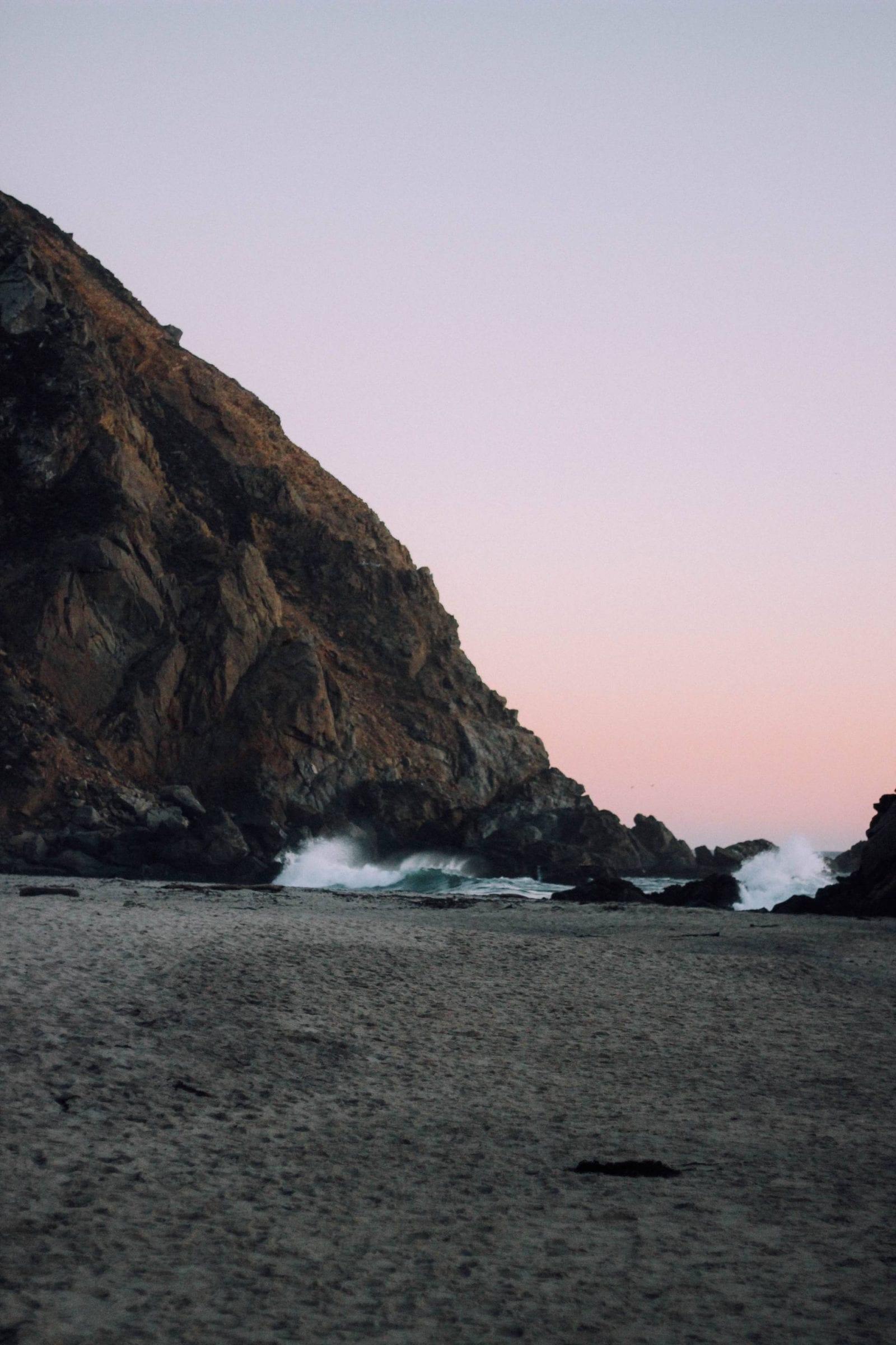 Pfeiffer Beach in Big Sur