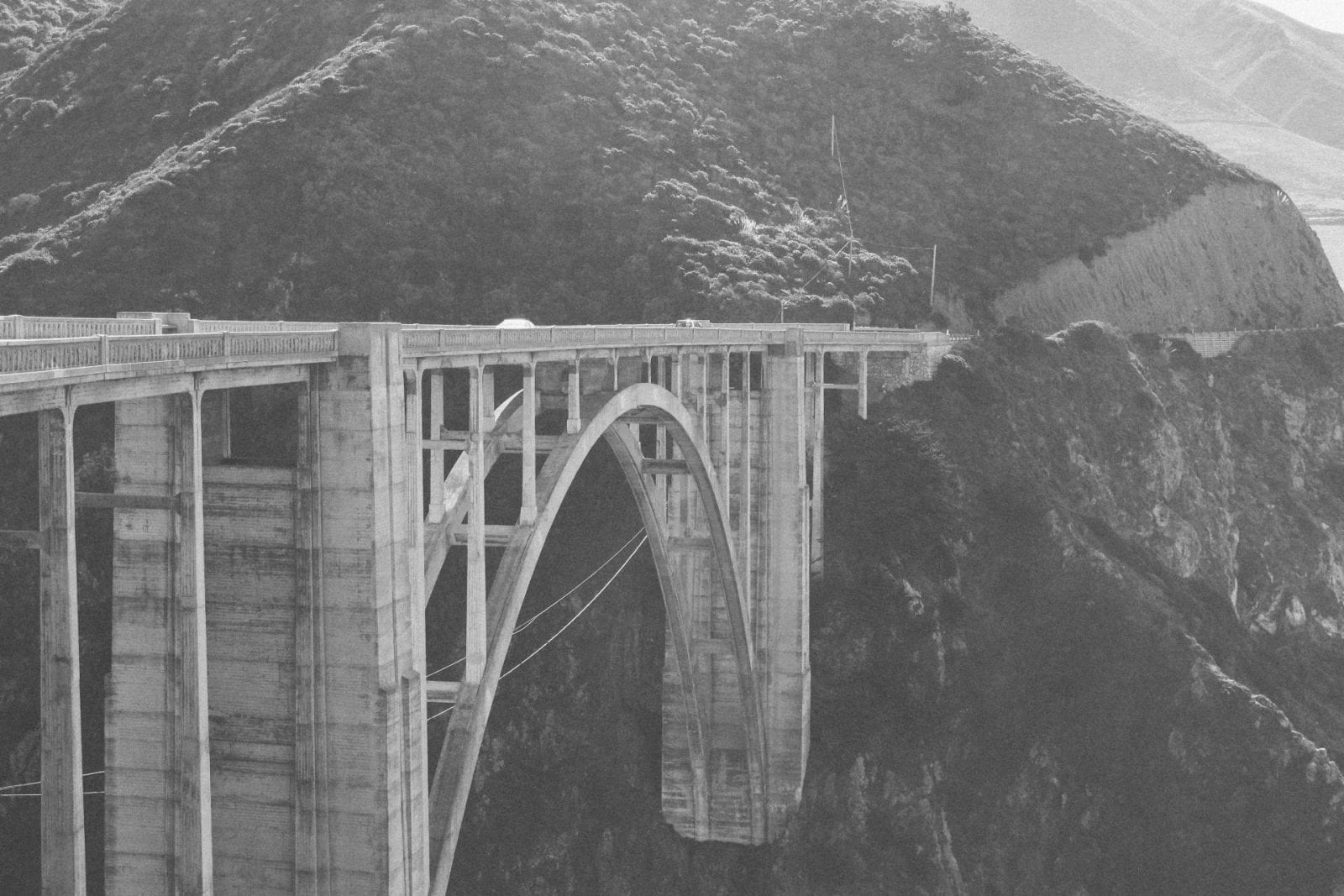 Bixby Creek Bridge in Big Sur