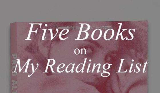 Five Books on My Reading List