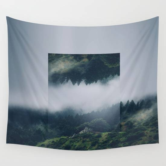 I get nervous. Wall Tapestry by Witchoria from