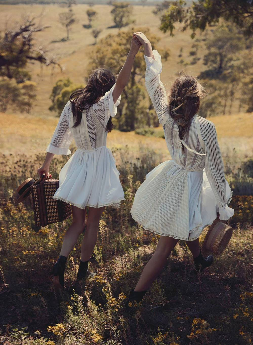 Teresa Palmer and Phoebe Tonkin by Will Davidson for Vogue Australia March 2015