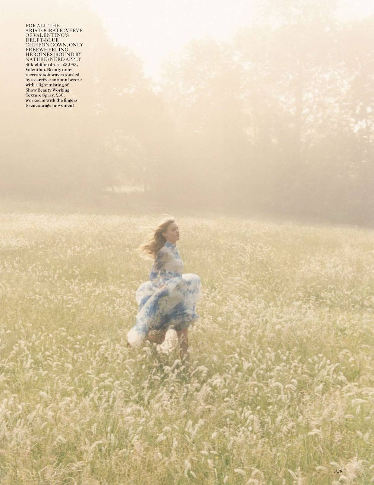 dream a little dream: georgia may jagger by venetia scott for uk vogue october 2013