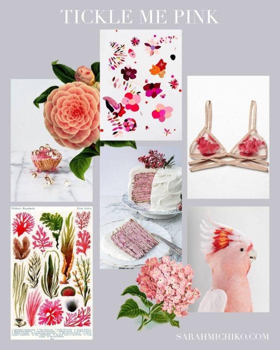 Pink Pinterest pins on SarahMichiko.com