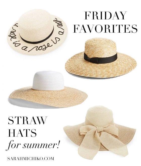 Straw Hats | SarahMichiko.com