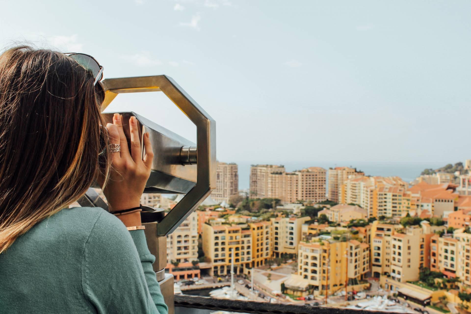Monte-Carlo lookout in Monaco