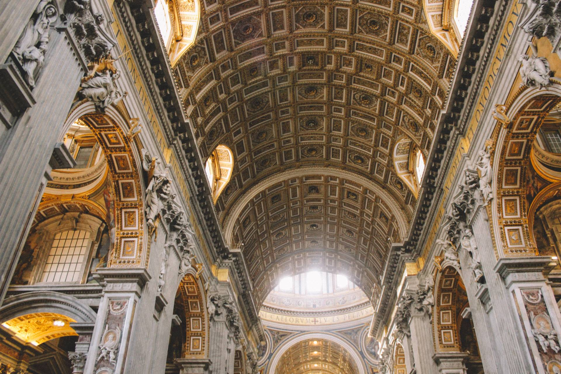 Inside St. Peter's Basilica, Vatican City
