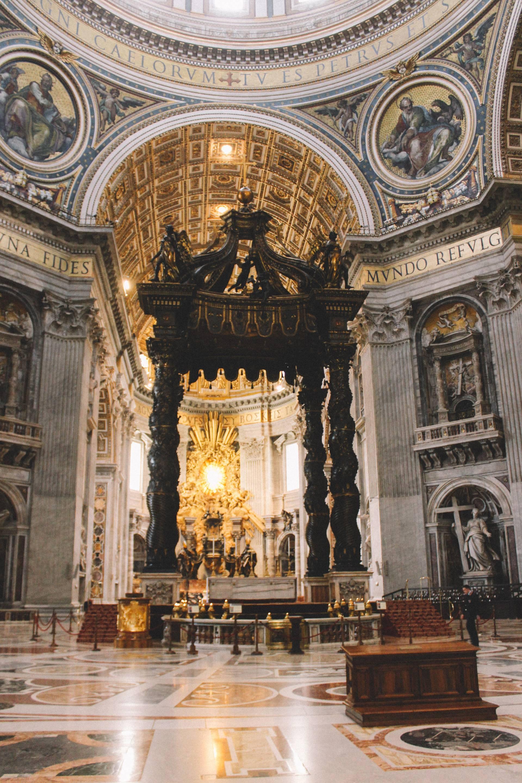 St. Peter's Baldachin, Vatican City