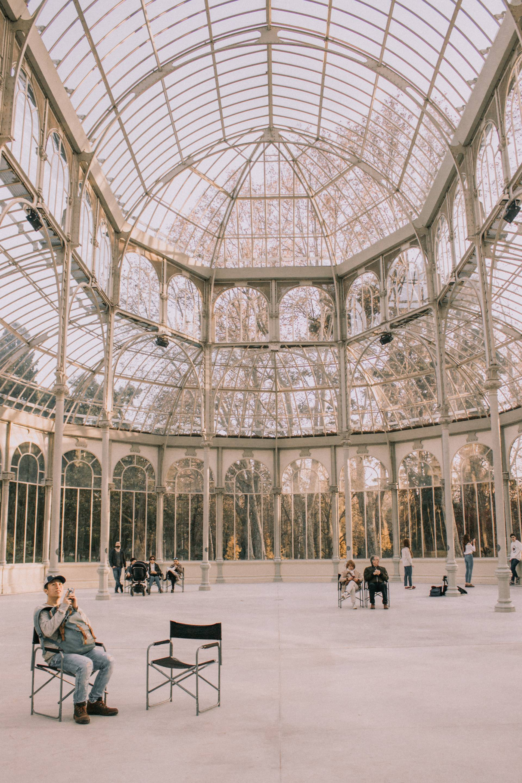 Palacio De Cristal, Retiro Park, Madrid, Spain