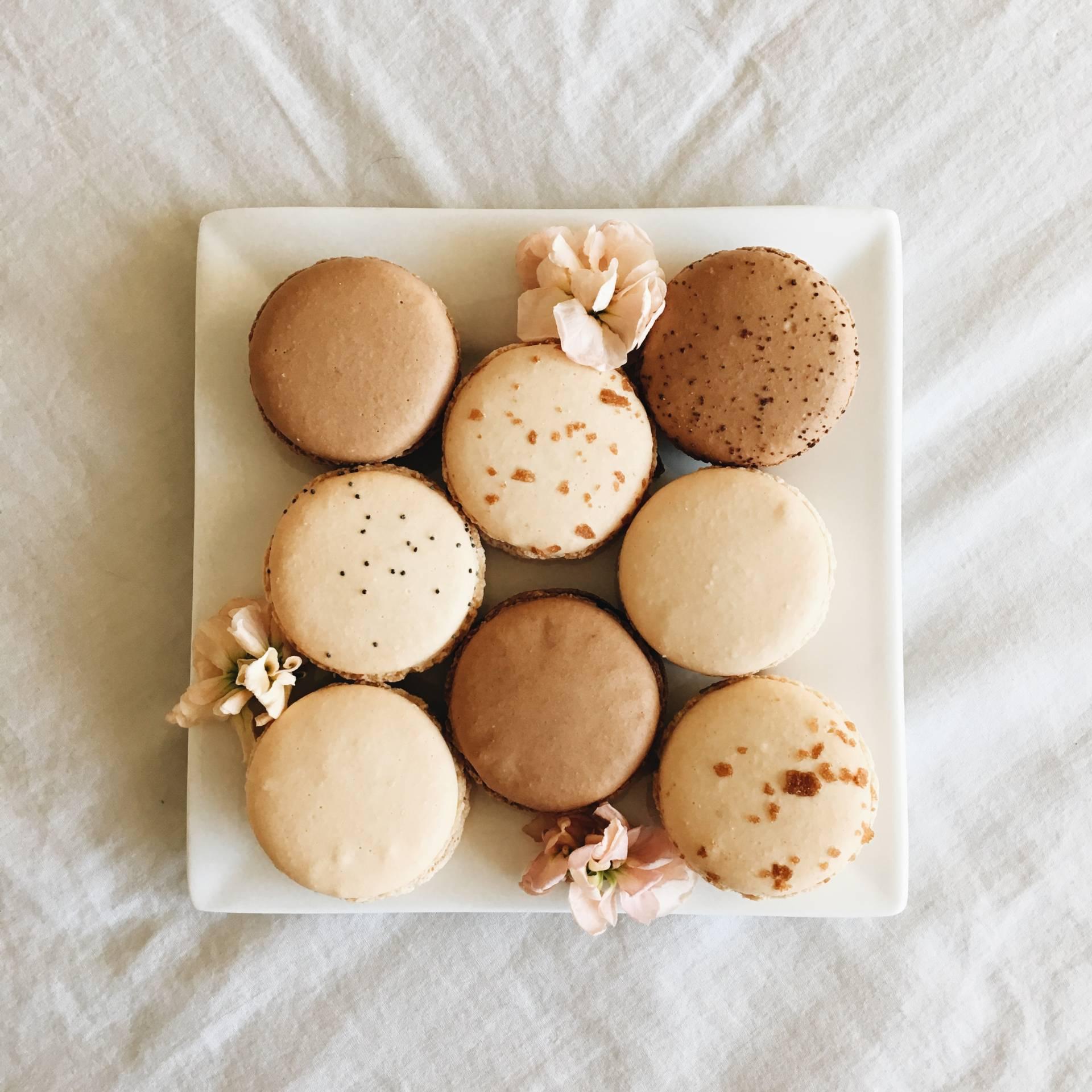 Ginger Elizabeth macarons