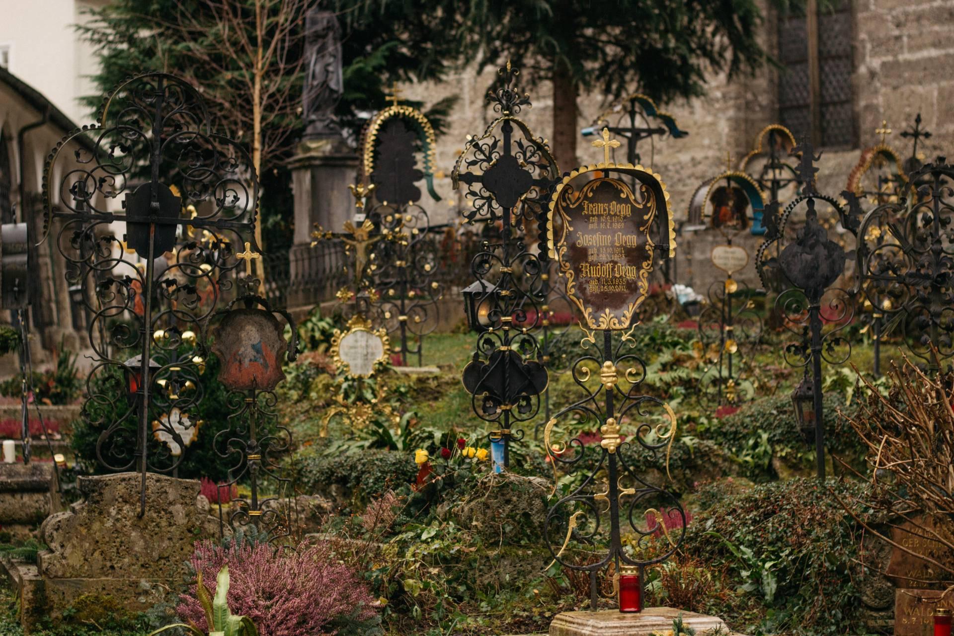 St. Peter's Cemetery, Salzburg, Austria