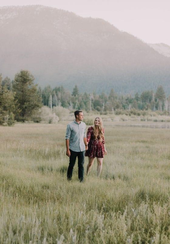 Lake Tahoe California Couple Session shot by Sarah Akiyama