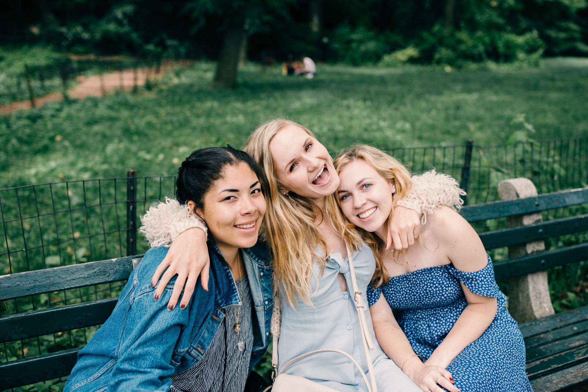 friends in central park new york city