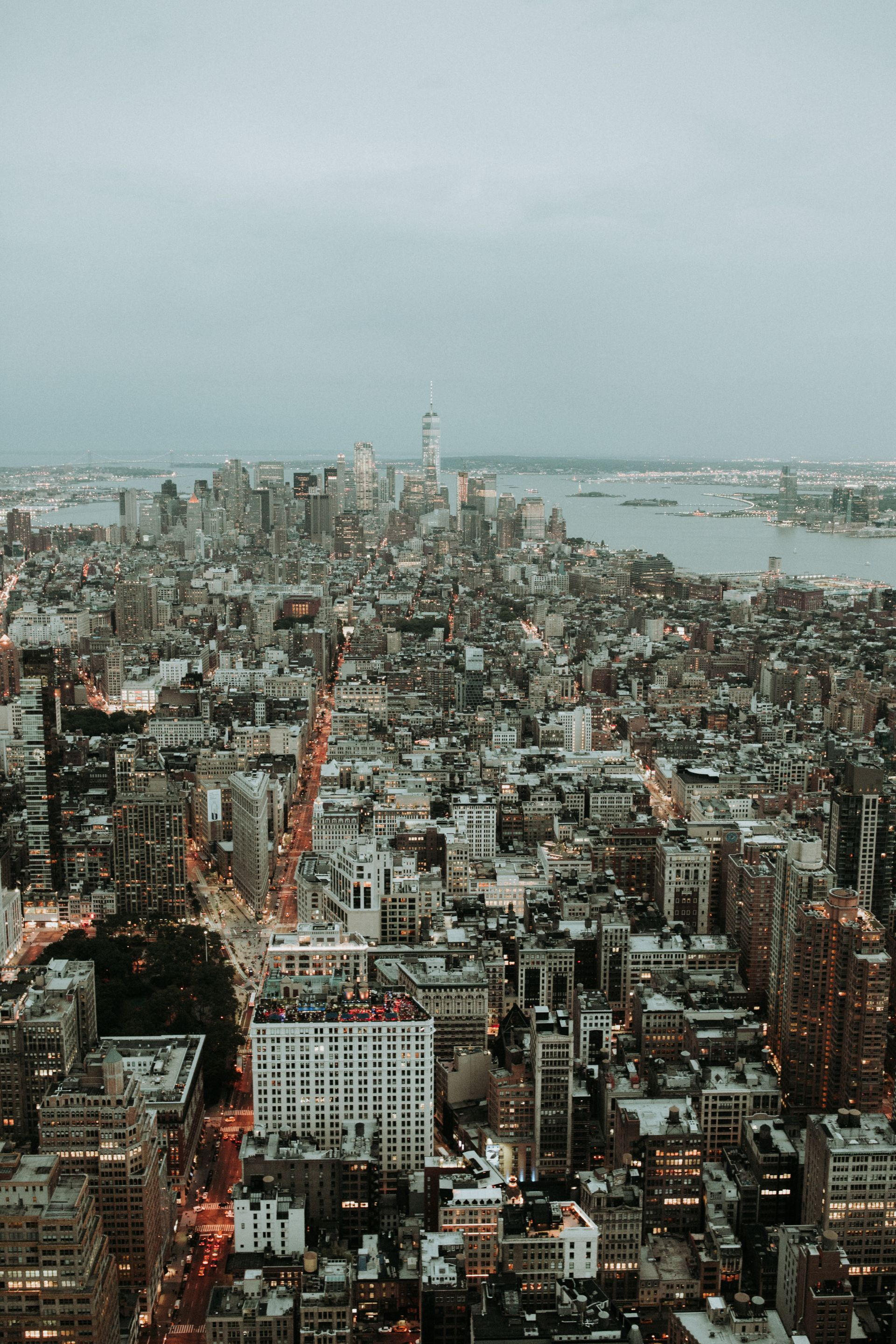 Top of the Empire State Building, NYC