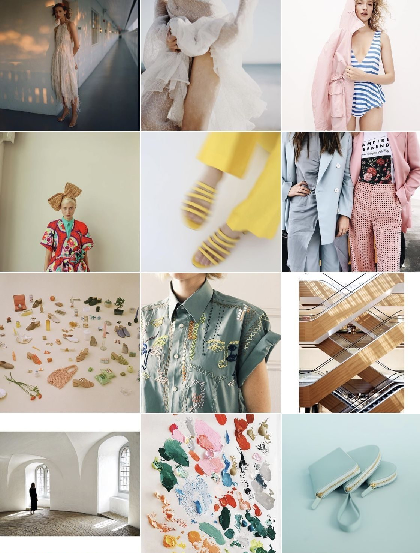 Sarah's Instagram Saves 02 | SarahMichiko.com featuring J.Crew, Delpozo, Mansur Gavriel Paloma Wool, Copenhagan and Zara