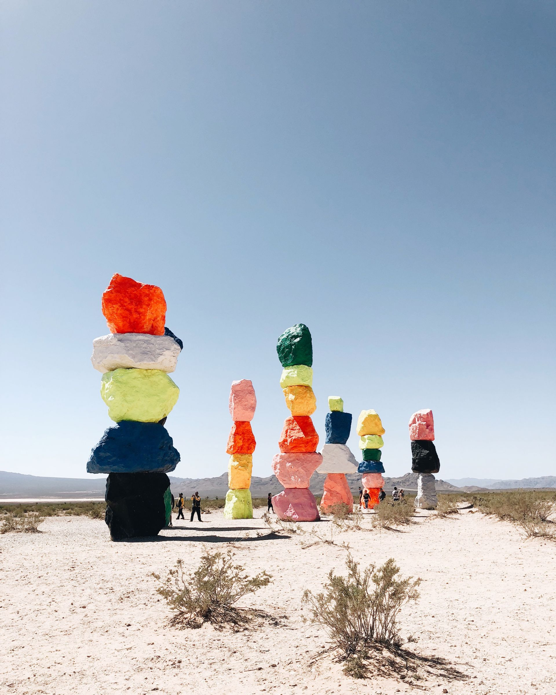 April Playlist 2018 | SarahMichiko.com Seven Magic Mountains, Las Vegas NV