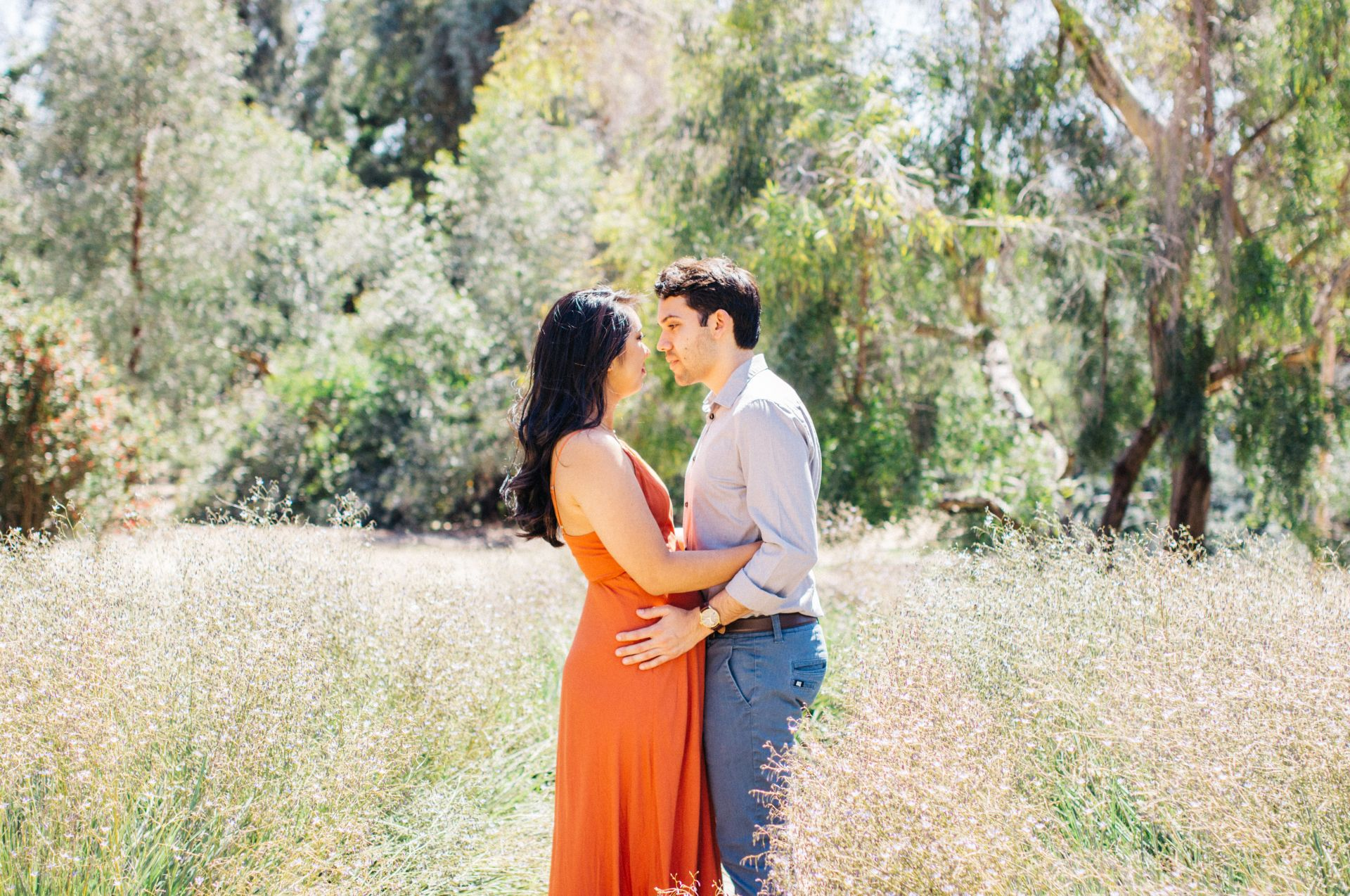 Joey + Justine: LA Arboretum Engagement Session | SarahMichiko.com Arcadia, Los Angeles