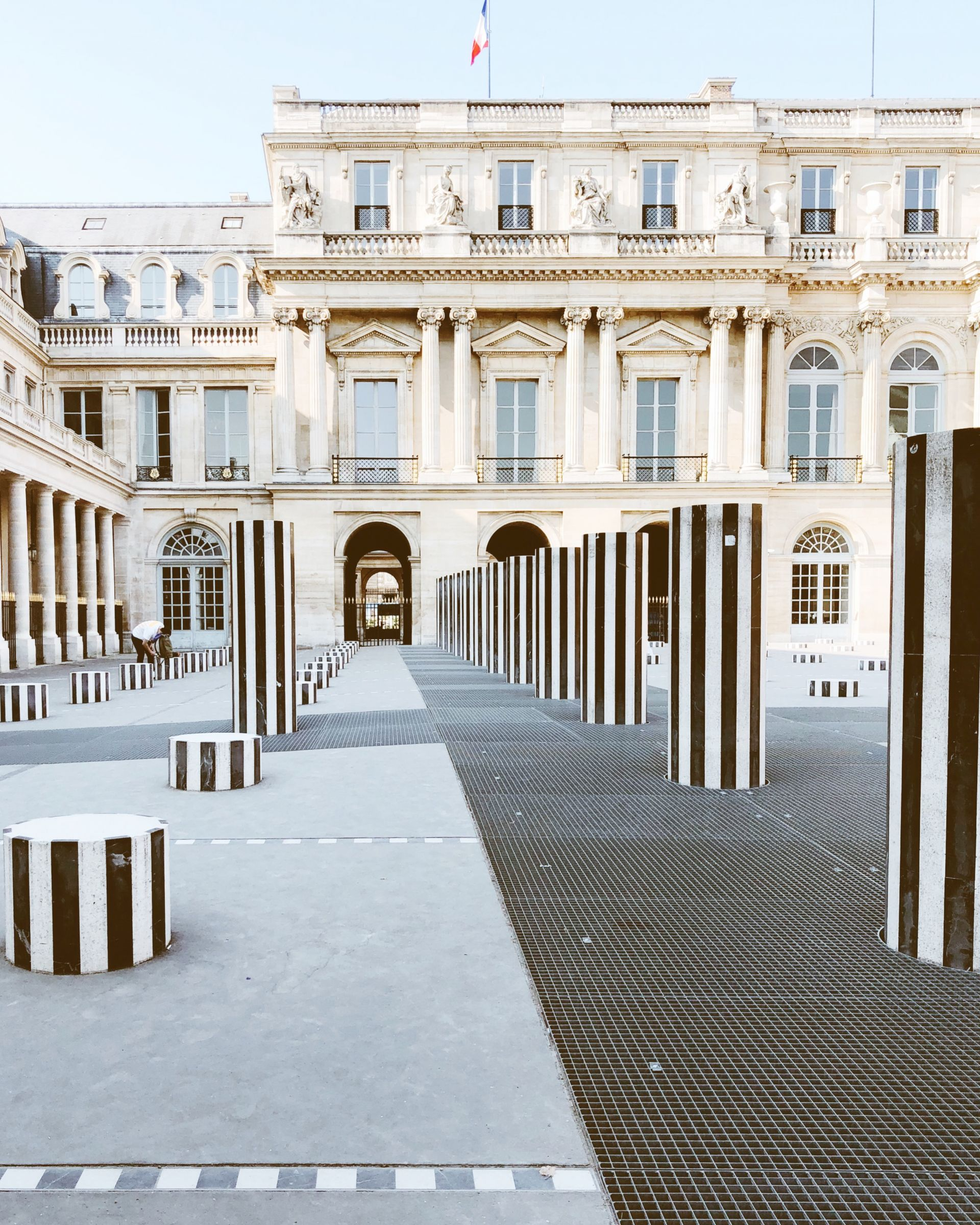 Palais-Royal, Paris | From Paris, With Love: The Perfect Parisian Weekend Guide (+ the cutest Airbnb!) | SarahMichiko.com