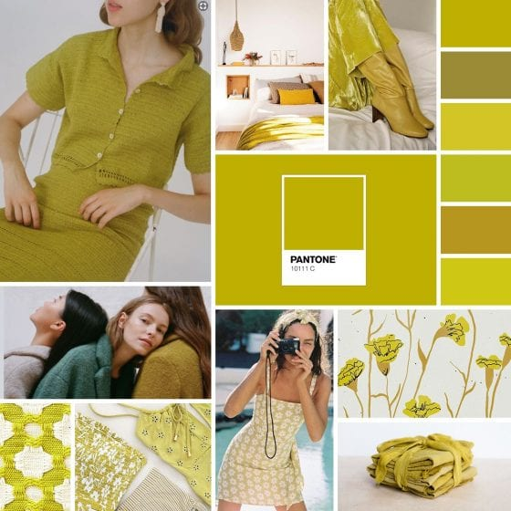 Palette: It's Not Easy Being Chartreuse | SarahMichiko.com