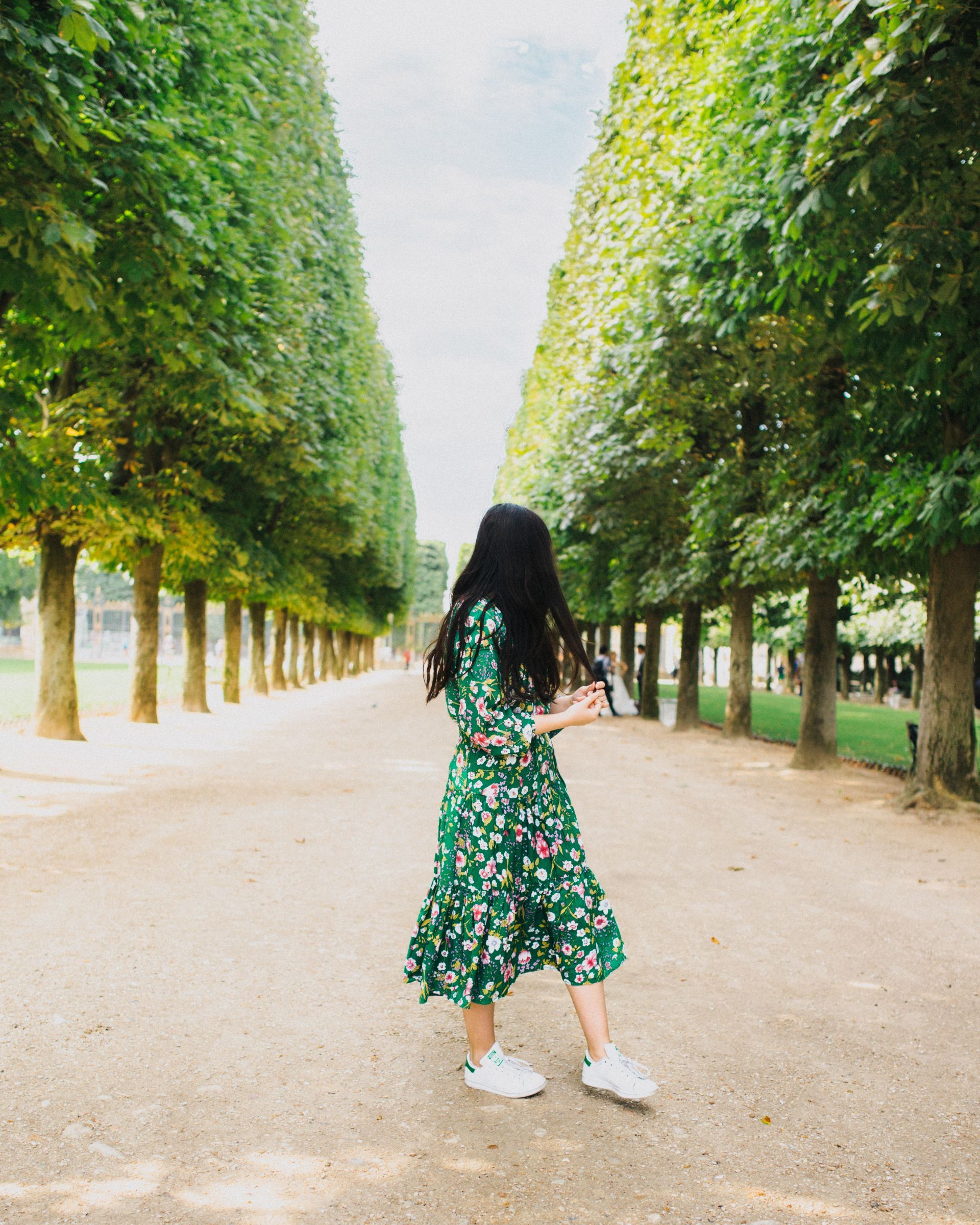 Urban Outfitters dress, Adidas Stan Smiths | From Paris, With Love: The Perfect Parisian Weekend Guide (+ the cutest Airbnb!) | SarahMichiko.com
