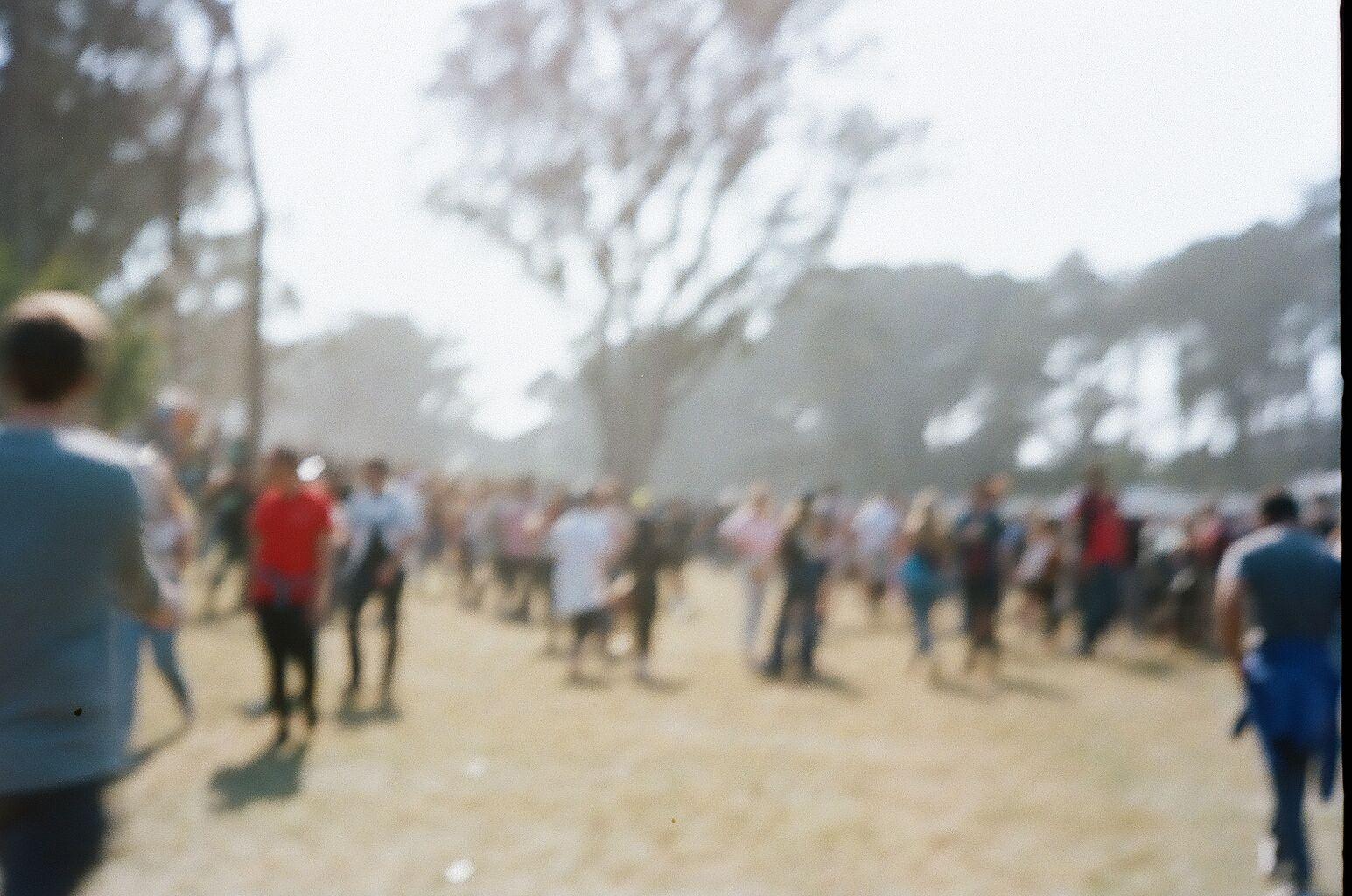Outside Lands Festival in San Francisco, CA Kodak Portra 400 35mm Film Photography | SarahMichiko.com