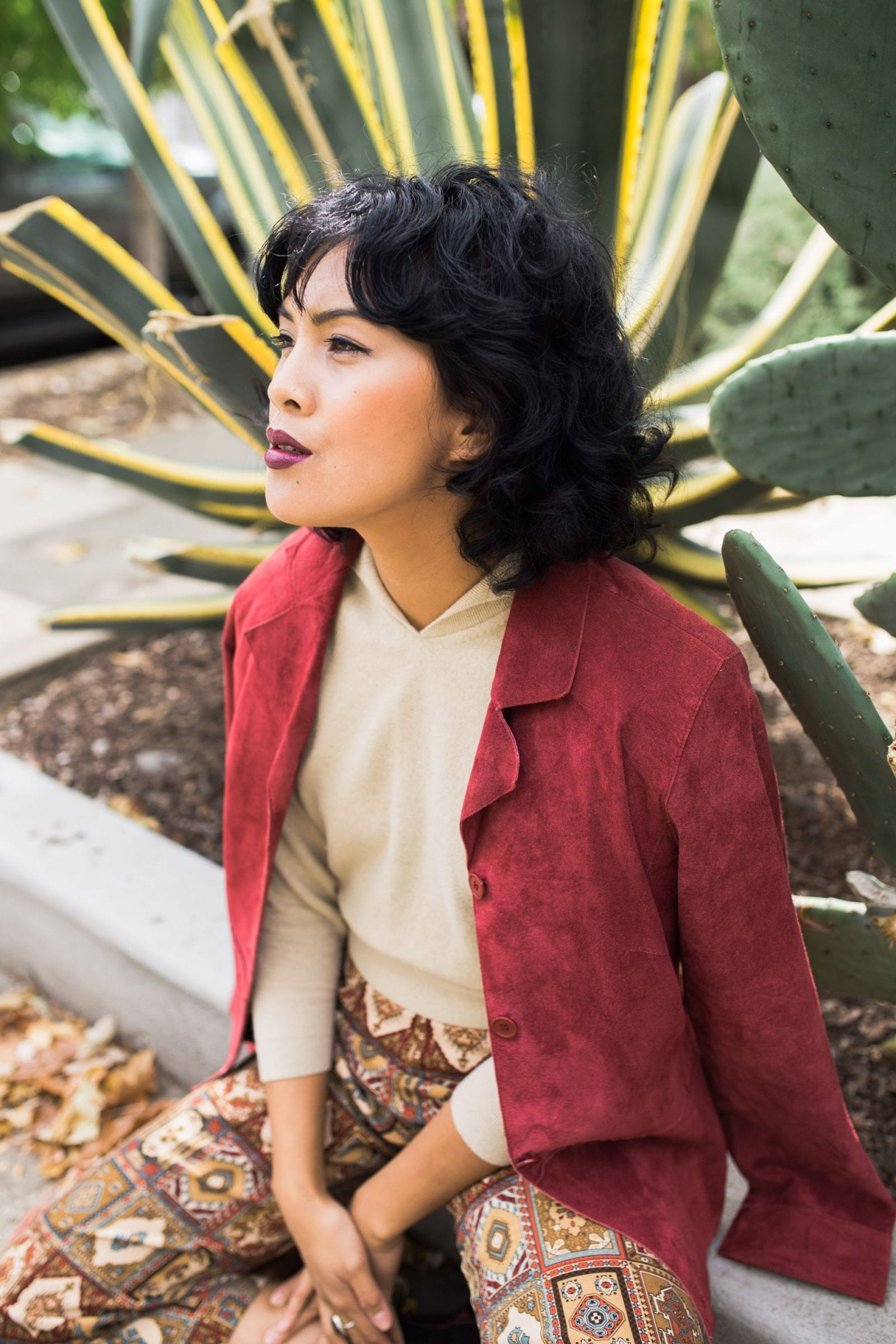 Shop Flore Fall Lookbook Sacramento Fashion Vintage | SarahMichiko.com