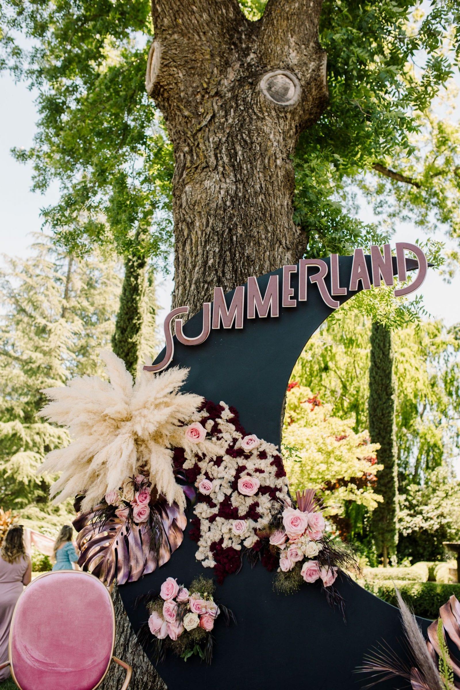 Park Winters Summerland 2019 | Installation Design | Party Inspiration | Floral Design | SarahMichiko.com