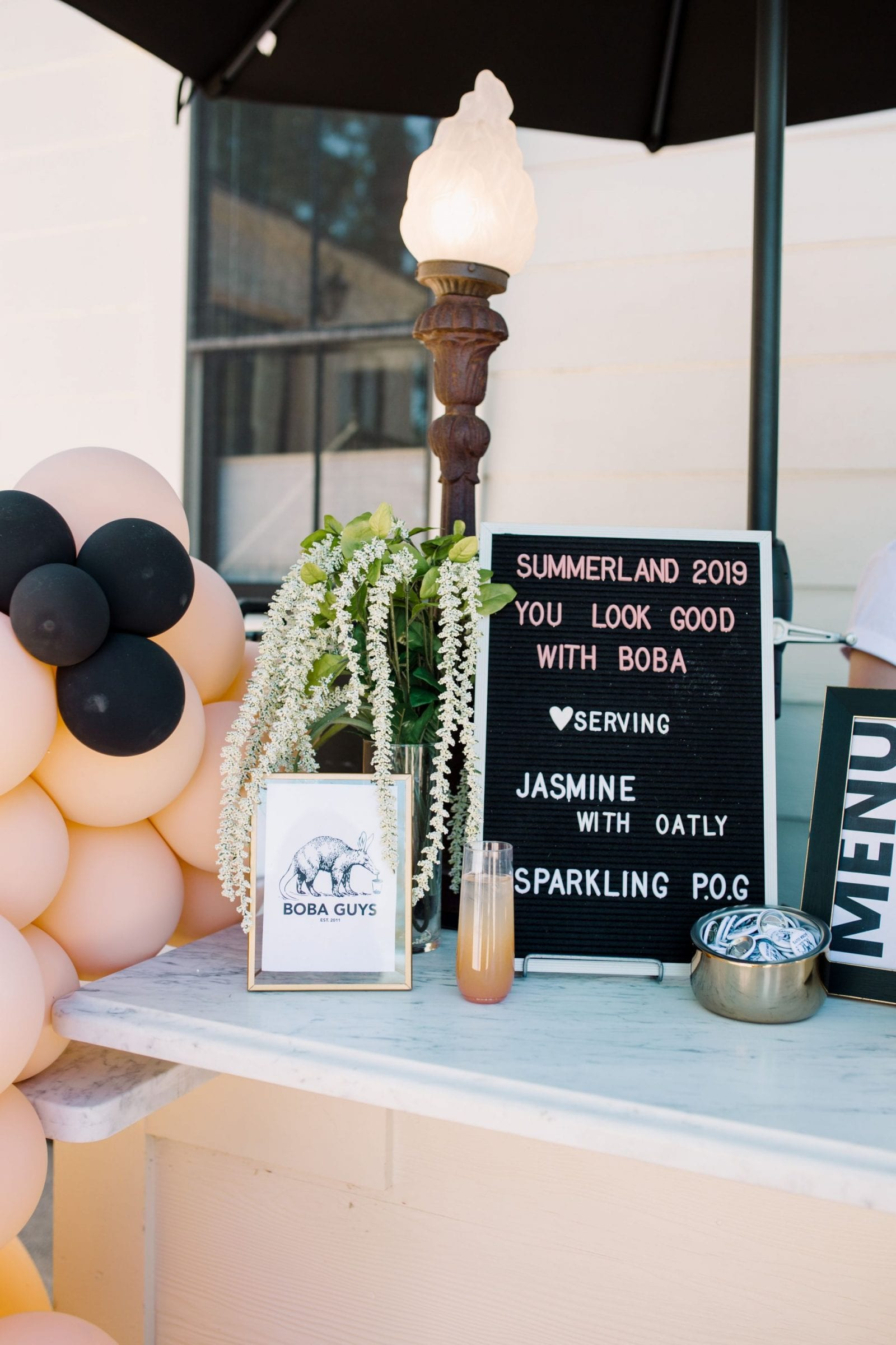 Park Winters Summerland 2019 | Installation Design | Party Inspiration | Boba Guys | Wedding Inspiration | SarahMichiko.com