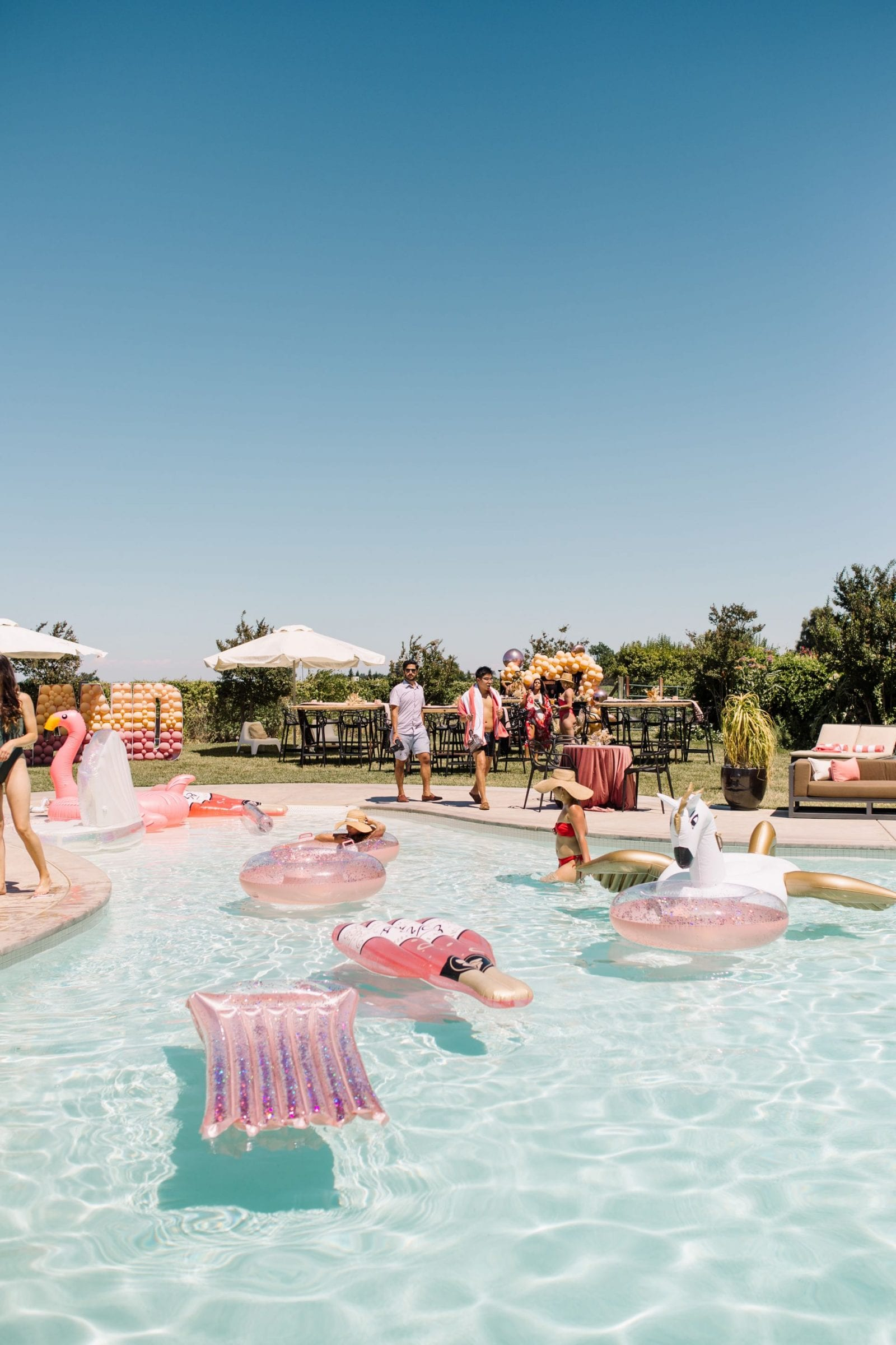 Park Winters Summerland 2019 | Summer Pool Party Inspiration | Fashion Blogger | Wedding Inspiration | SarahMichiko.com