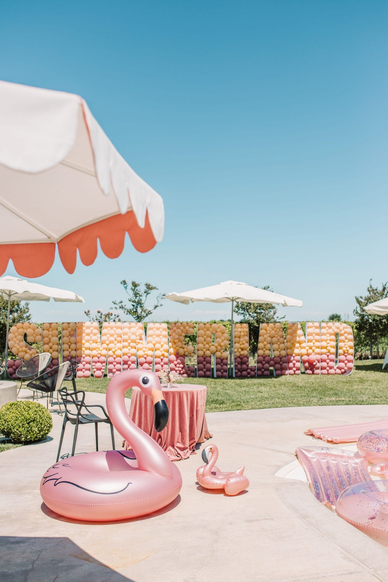 Park Winters Summerland 2019 | Summer Pool Party Inspiration | Installation Design | SarahMichiko.com