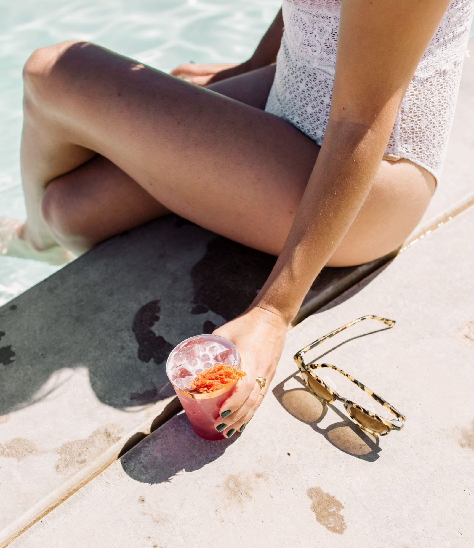 Park Winters Summerland 2019 | Summer Pool Party Inspiration | Fashion Blogger | Swimsuit | Poolside Cocktail | SarahMichiko.com