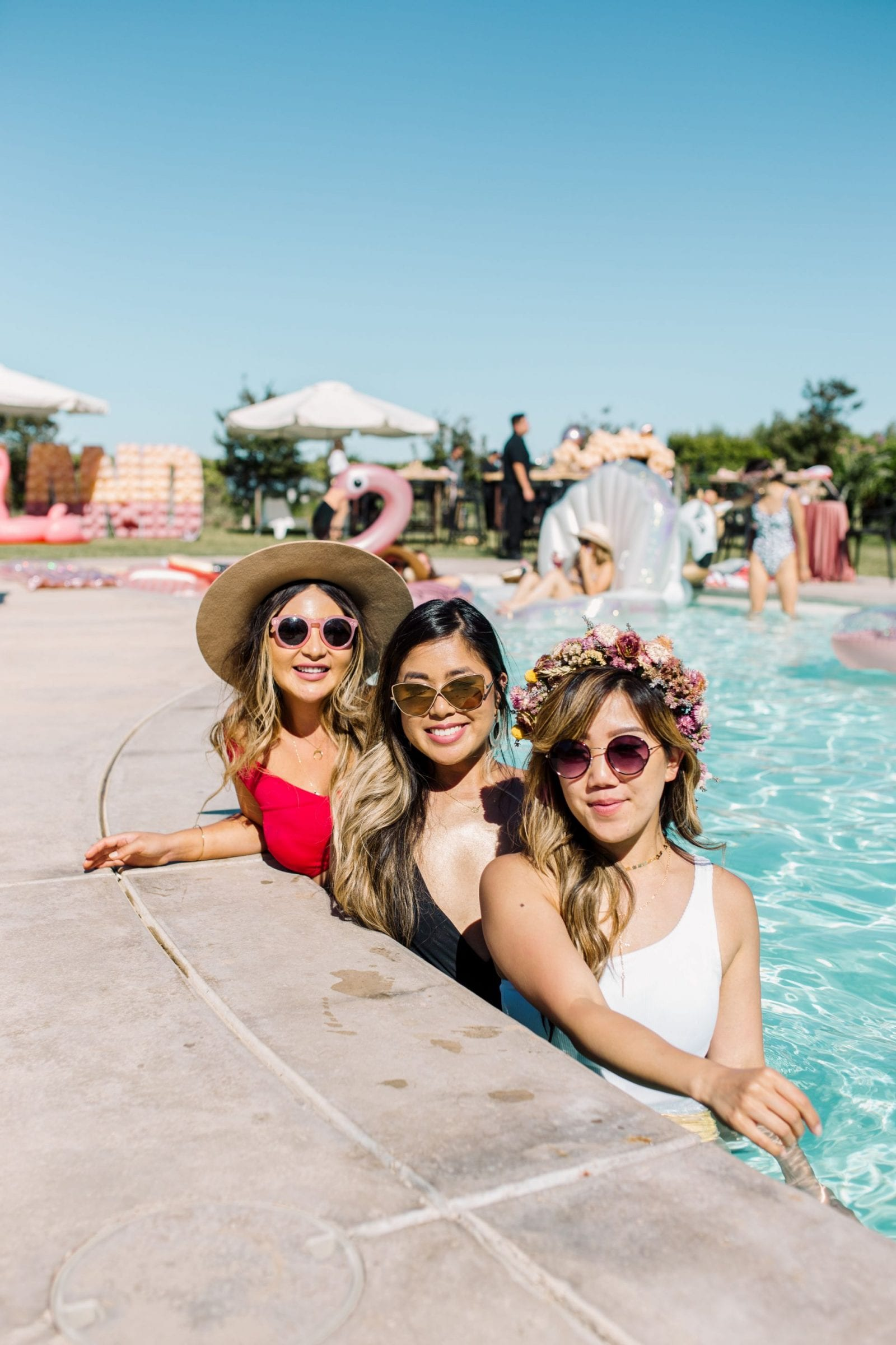 Park Winters Summerland 2019 | Summer Pool Party Inspiration | Fashion Blogger | Swimsuit | SarahMichiko.com