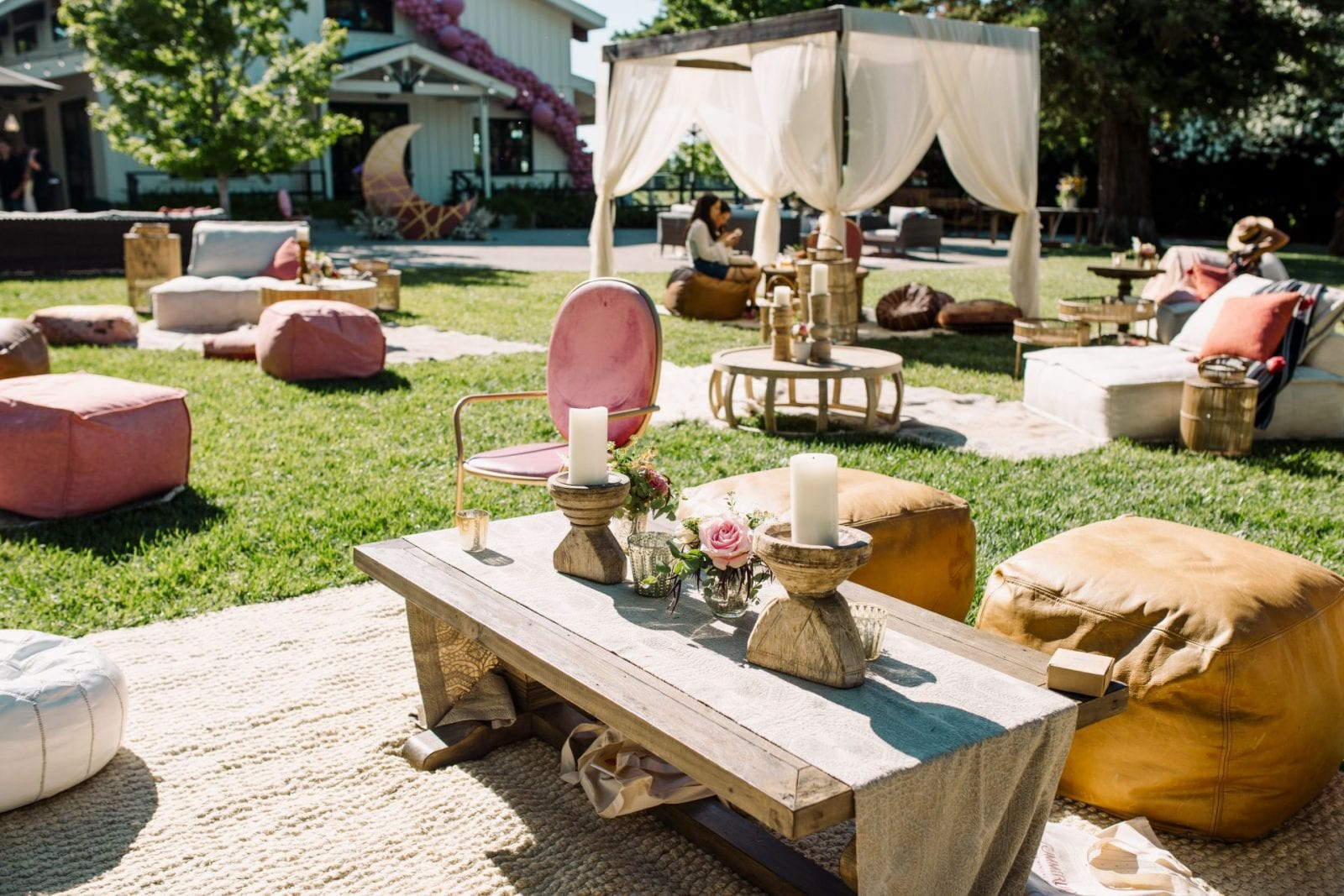 Park Winters Summerland 2019 | Northern California Wedding Event Venue | Summer Pool Party Inspiration | Event Boho Rentals | SarahMichiko.com