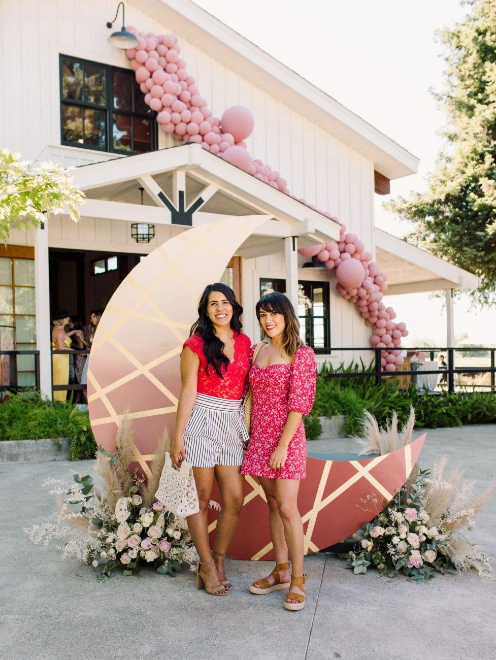Park Winters Summerland 2019 | Summer Pool Party Inspiration | Fashion Blogger Outfit | Installation Floral Balloon Garland Design | SarahMichiko.com
